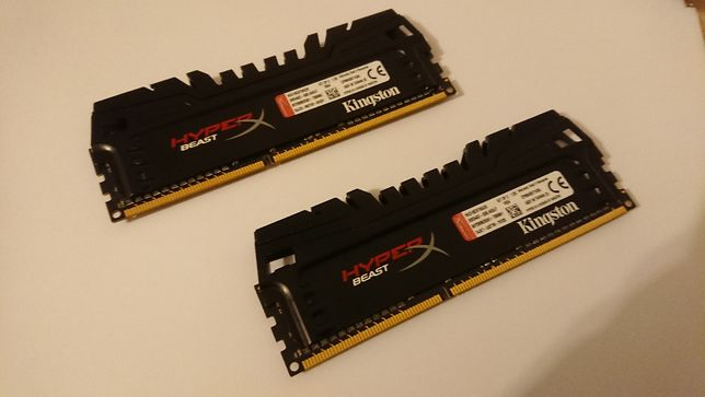 Kingston HyperX Beast Pamięć RAM DDR3 1866MHz 8GB (2x4GB) CL9