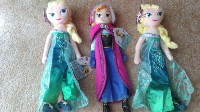 Frozen, Anna i Elsa, kraina lodu, lalka pluszowa Ania i Elsa