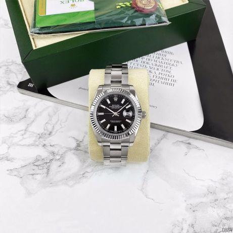 Zegarek Rolex DateJust AAA Silver-Black