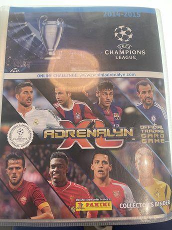 Karty pilkarskie Champions League