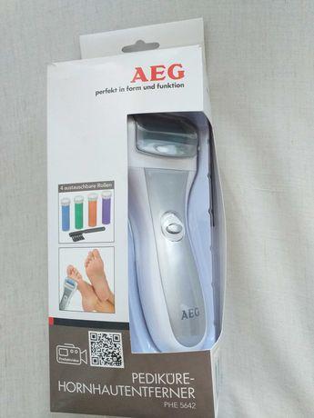 Nowy pilnik elektryczny do stóp firmy AEG