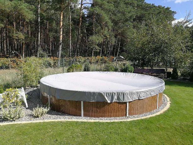 Pokrowiec Plandeka na basen ogrodowy.