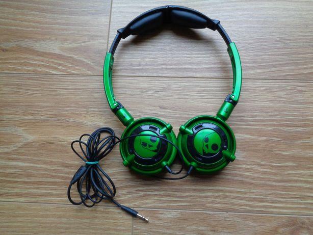 Słuchawki Skullcandy Lowrider z mikrofonem, zielone