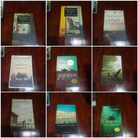 Romances diversos Nicholas Sparks a 9€