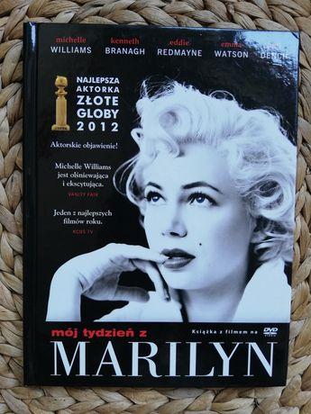 """Książka z filmem na DVD """"Mój tydzień z Marilyn"""""""