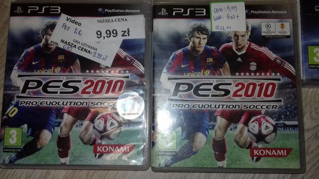 PES 2010 PS3, pro evolution soccer ps3, SKLEP