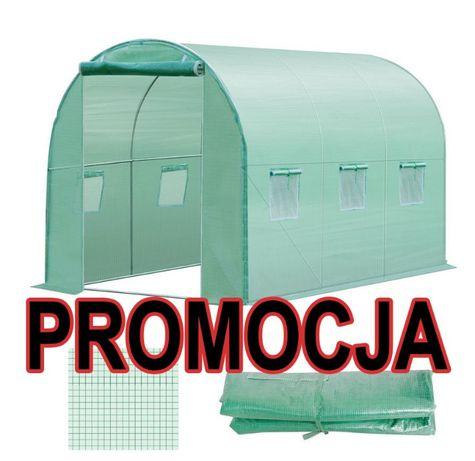 Nowy 6m2 2x3 Tunel foliowy na warzywa ogrodowy Szklarnia namiot FOLIA