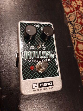 NoWY Gwarancja, Efekt gitarowy Vocoder Iron Lung EHX electro-harmonix.