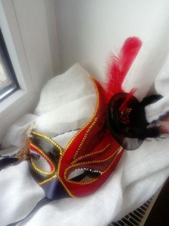 Maska Wenecka ręcznie malowana