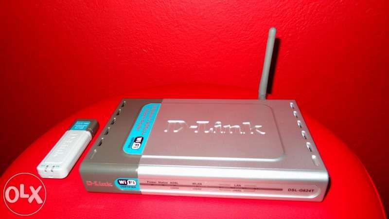 Router d-link dsl-g624t