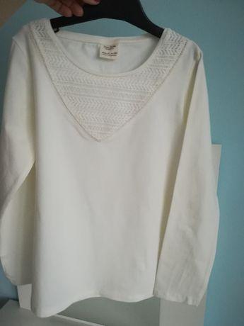 bluzka ecry Zara rozmiar 128/134