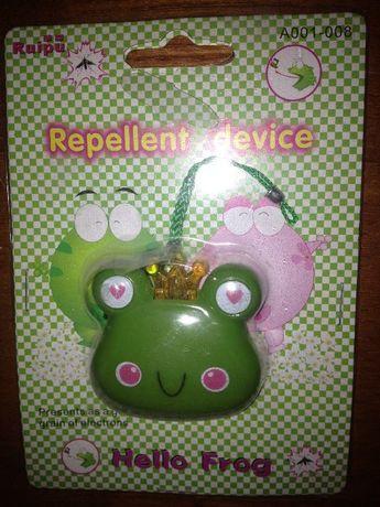Брелок подарок девушке Отпугиватель комаров и мошек #3 Hello Frog