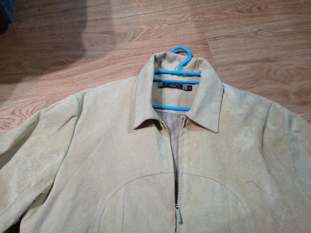 Zamszowa kurteczka 40 42
