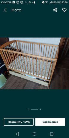 Кровать детская с нишей ольха