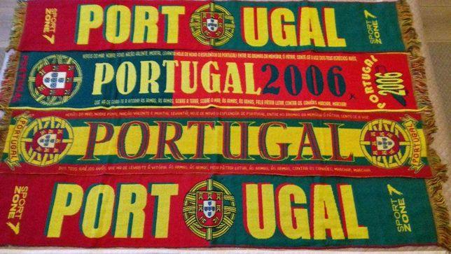 4 Cachecóis Portugal