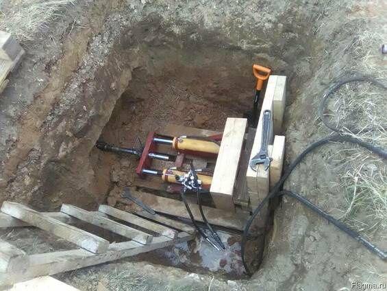Прокол под воду газ кабеля