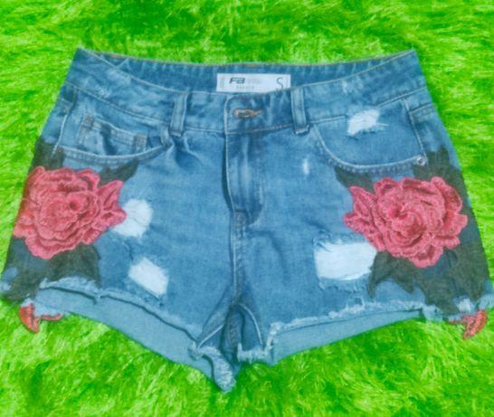 Calções jeans novos
