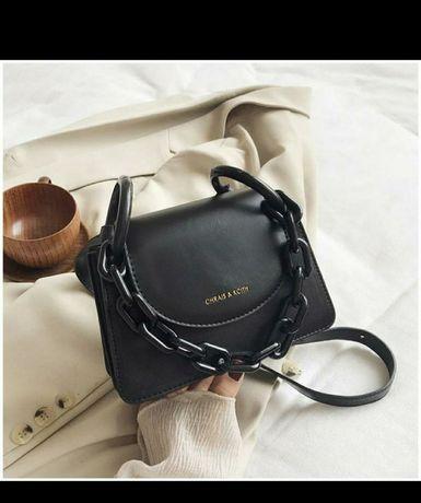 Сумка сумочка с масивний цепью