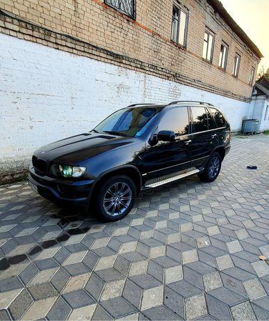 BMW X5, 3.0d, Черная на черном, идеал.