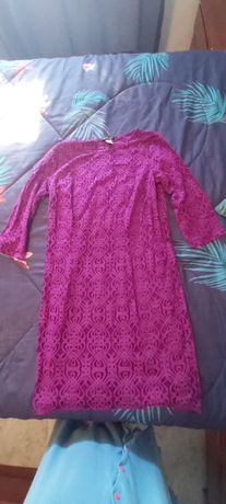 Vestido de cerimónia tamanho 42 (portes grátis)