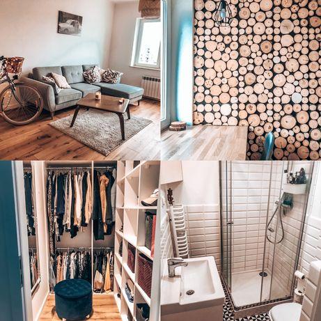 Piekne mieszkanie na wynajem 2 pokoje+kuchnia i garderoba/centrum