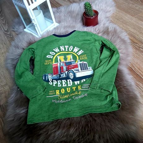 Zielona bluzka
