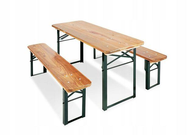 Stolik +2 ławeczki dla dzieci zestaw