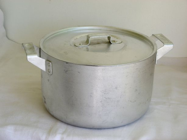 Кастрюля алюминиевая 4,5 литра