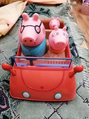 Свинка пепа машинка