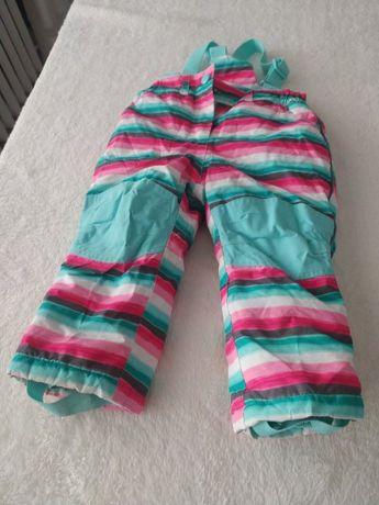 Spodnie dziecięce zimowe narciarskie rozmiar 92 marka  topomini