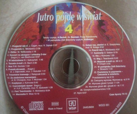 Płyta CD - Jutro pójdę w świat do klasy 4 - j.polski