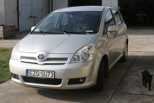 Toyota corolla verso 1.8 benzyna +gaz BRC 2008R