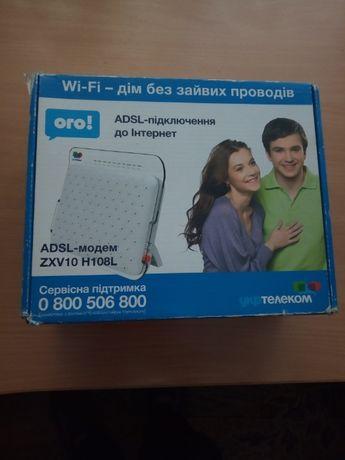 ADSL-модем Укртелеком ZTE ZXV10 H108L