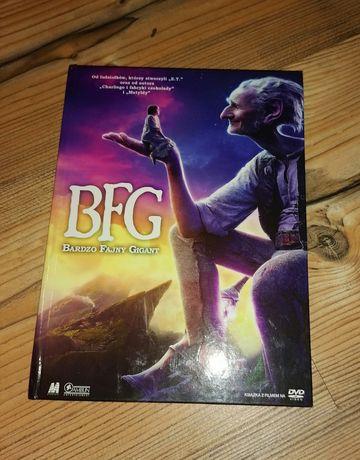 Płyta DVD z bajką Bardzo Fajny Gigant