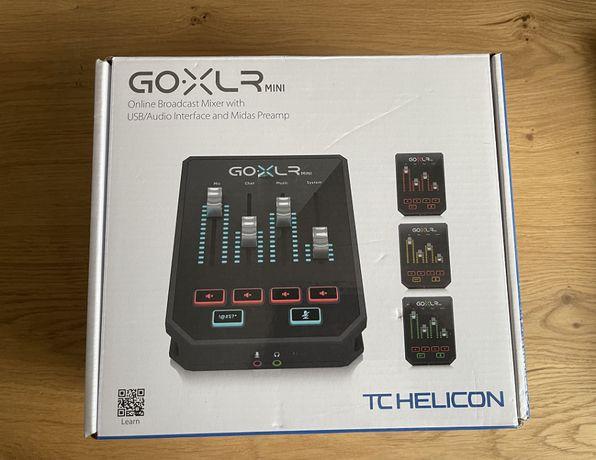 Стримерский Аудиоинтерфейс TC Helicon GO XLR Mini