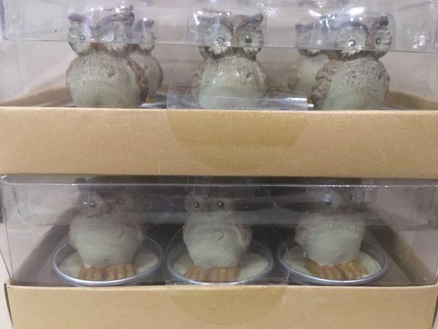 Набір свічок 6шт melinera набор свечи декорация