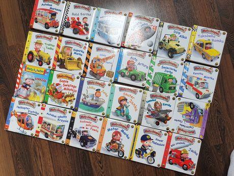 Seria książek Mały Chłopiec Kolekcja 24 książki Policja Straż Pożarna