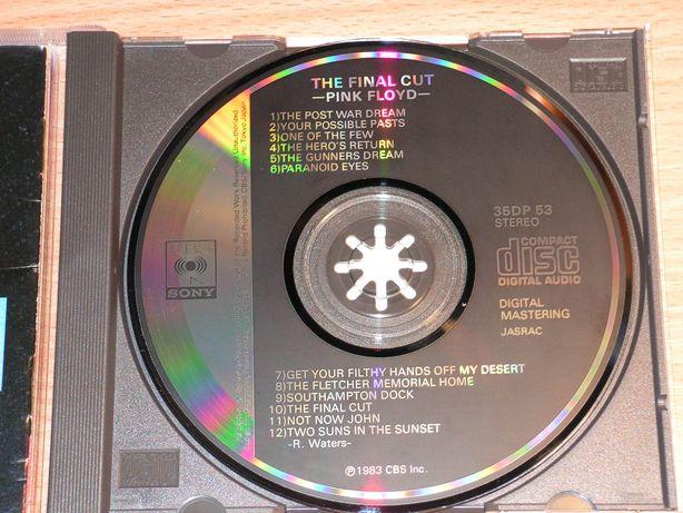 Pink Floyd - The Final Cut 35DP-53 Japan