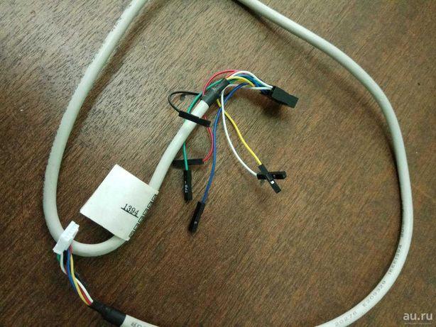 Кабель IEEE 1394 в корпус компьютера на переднюю панель.