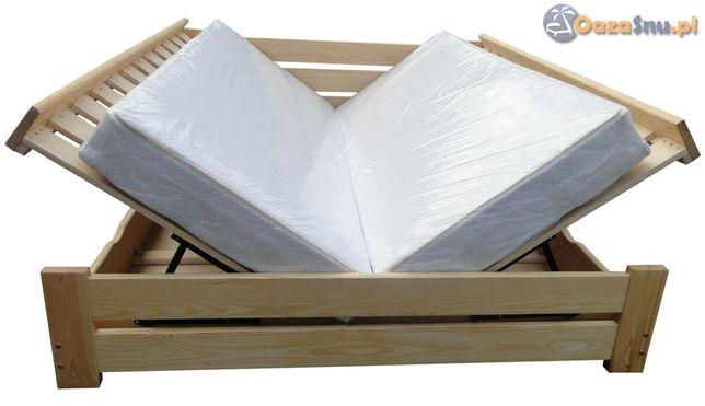 łóżko otwierane z dwóch stron ze skrzynią HARMONIA 160x200