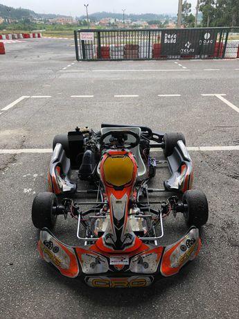 Kart CRG Rotax Max 125 com Atrelado e Equipamento