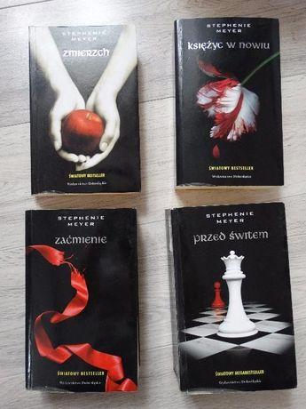 Stephanie Meyer - Zmierzch, Księżyc w nowiu, Zaćmienie, Przed świtem