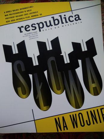 Журнал на польском языке Respublica nowa