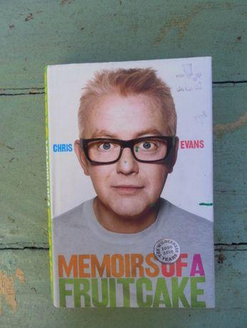 "Книга на английском Chris Evans ""Memoirs of a Fruitcake"""