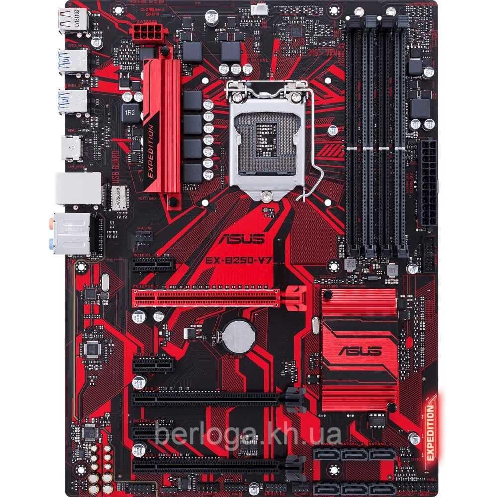 Комплект мать ASUS EX-B250-V7+G3900+ddr4_4gb