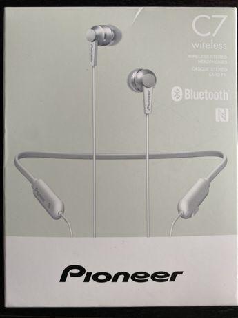 NOWE Słuchawki bezprzewodowe Pioneer SE-C7BT Białe
