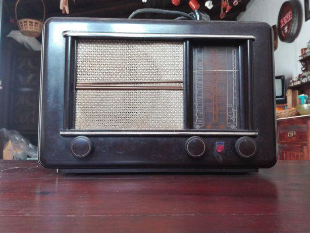 Radio Phillips a válvulas anos 20