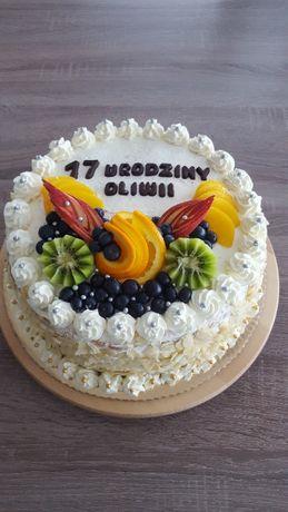 Domowe torty i ciasta na każdą okazję !!