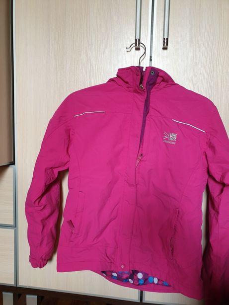 Karrimor kurtka dziewczęca r. 13 lat 158 cm różowa ciepła ocieplana