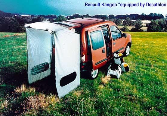 Anexo/extensão para Carrinha Kangoo